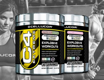 44% off 2-Pack of Cellucor C4 Pre-Workout Supplements