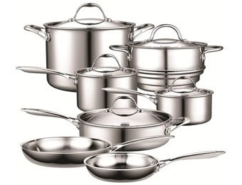$575 Off Cooks Standard Stainless Steel 12-Piece Cookware Set