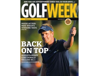 97% off Golfweek Magazine Subscription, $4.99 / 38 Issues