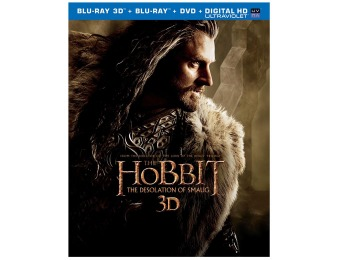 38% off The Hobbit: The Desolation of Smaug (Blu-ray 3D Combo Pack)