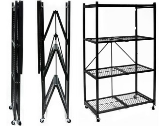 $53 off Origami 4-Shelf Steel Collapsible Storage Rack