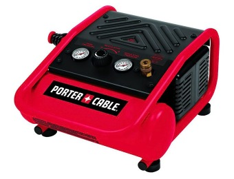 74% off Porter-Cable C1010 1-Gal. Portable Electric Air Compressor