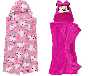 58% Off Girls Hooded Costume Blankets, 2 Styles