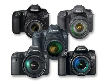 Up to $550 off Select Canon EOS DSLR Cameras at Best Buy