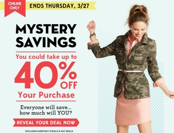 Extra 40% off Your Order at Old Navy