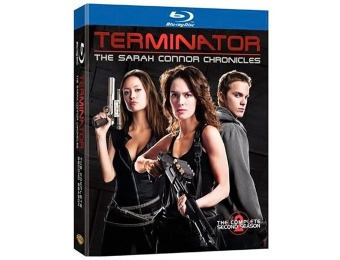 63% off Terminator Sarah Connor Chronicles 2nd Season (Blu-ray)