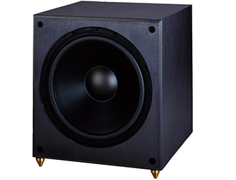 "Extra $395 off Pinnacle PS SUB 225 12"" 225W Powered Subwoofer"