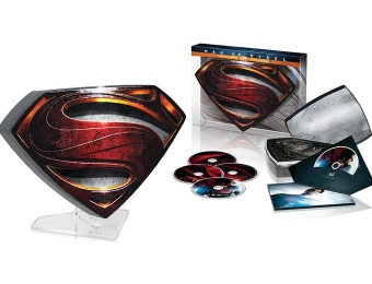 72% off Man of Steel Collector's Edition (Blu-ray 3D + Blu-ray + DVD)