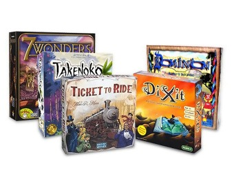 Up to 45% Off Top-Rated Strategy Board Games at Amazon