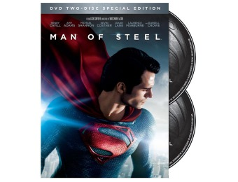 $18 off Man of Steel (Two-Disc Special Edition DVD)