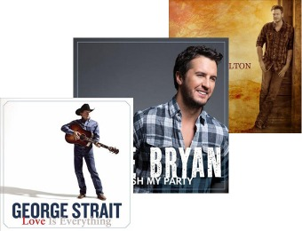 Up to 53% off Select Country CD's at Best Buy