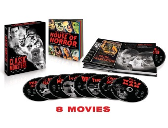 76% off Universal Classic Monsters: The Essential Collection (Blu-ray)
