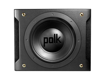 "$150 off Polk DXI1201 12"" Dual Voice Coil Subwoofer Enclosure"