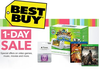 1-Day Sale - Special offers on video games, music, movies & more!