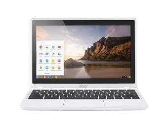 "50% off Acer C720P 11.6"" Touch-Screen Chromebook, 32GB SSD"