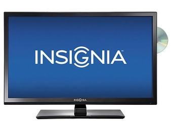 "26% off Insignia 28"" LED 720p HDTV DVD Combo"