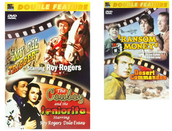 87% Off Classic Double Feature DVDs, 11 DVDs Available