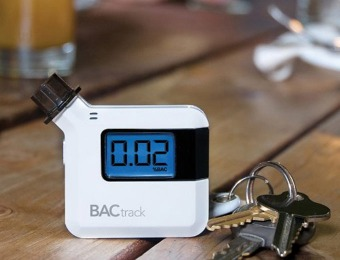 79% off BACtrack S35 Breathalyzer Portable Breath Alcohol Tester
