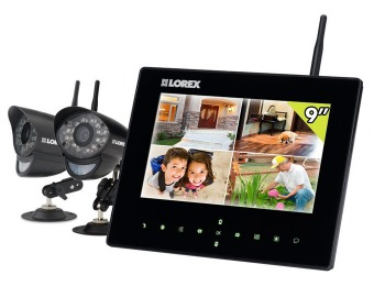 34% off Lorex LW2932 LIVE SD9+ 4-Ch Wireless Monitoring System