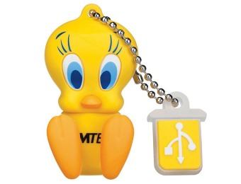 $6 off EMTEC Looney Tunes Tweety Bird 8GB Flash Drive