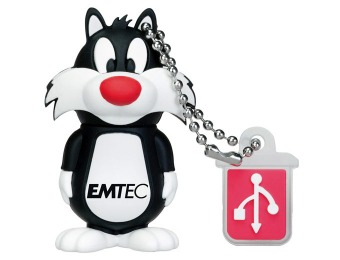 $6 off EMTEC Looney Tunes Sylvester the Cat 8GB Flash Drive