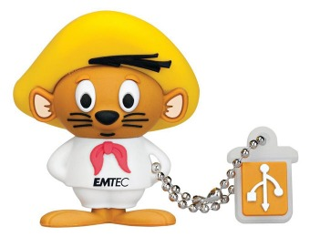 $13 off EMTEC Looney Tunes Speedy Gonzalez 4GB Flash Drive