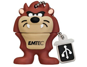 $13 off EMTEC Looney Tunes Taz 4GB Flash Drive