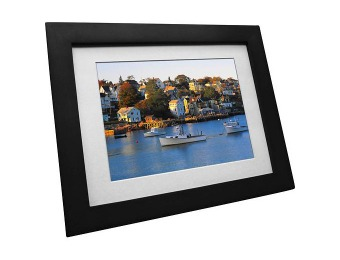 "63% off VistaQuest VQ0801W 8"" Digital Photo Frame - Espresso"