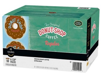 $6 off Keurig Donut Shop Medium-Roast Coffee K-Cups (54-Pack)