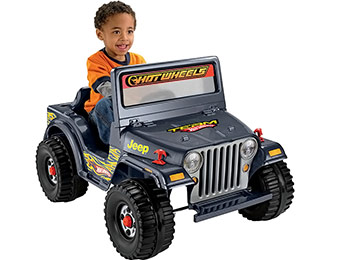$77 off Fisher-Price Power Wheels Lil Wrangler Power Jeep