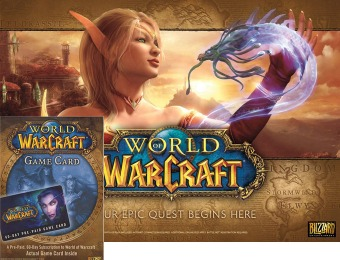 $20 off World of Warcraft Game and 60-day Subscription Card Package