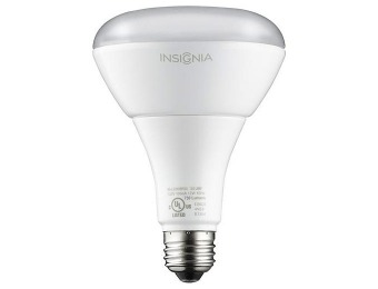 $10 off Insignia 12W Dimmable BR30 Indoor LED Floodlight Bulb