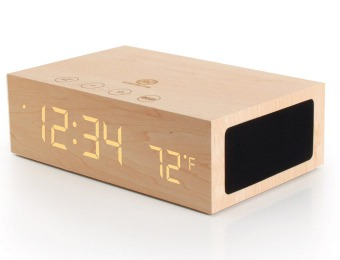 $80 off GOgroove BlueSYNC TYM Bluetooth Wood Stereo Speaker