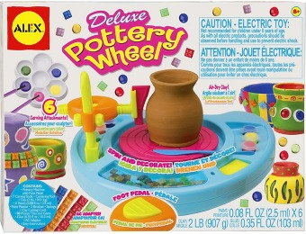 56% off Alex Toys Artist Studio Deluxe Pottery Wheel 168N