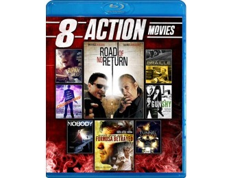 76% off 8-Film Action Collection on Blu-ray