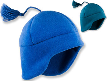 76% Off Kids Turtle Fur Chelonia 200 Flapjack Beanie, 2 Colors