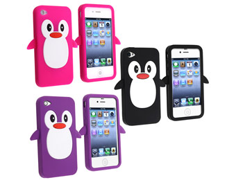 47% Off iPhone 4/4S Penguin Silicone Case, 3 Colors