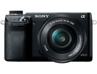 $376 off Sony NEX-6L/B Compact Interchangeable Lens Camera