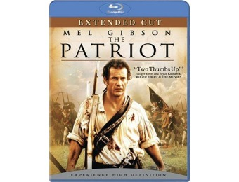 70% off The Patriot (Extended Cut) Blu-ray