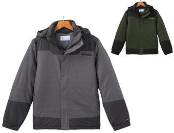 70% Off Columbia Colorblock Path To Anywhere Hooded Jacket