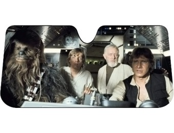 60% off Plasticolor Star Wars Accordion Sunshade