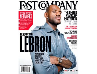 90% off Fast Company Magazine Subscription, $5 / 10 Issues