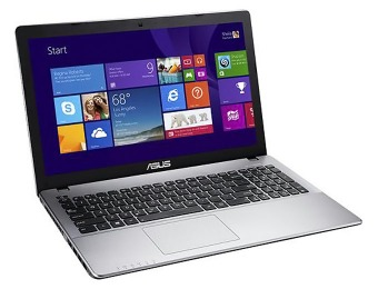 "30% off Asus X550CA 15.6"" Touch-Screen Laptop, (i3,4GB,500GB)"