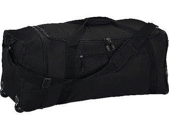 "Deal: Protege 32"" Expandable Rolling Duffel Bag (97¢ Shipping)"