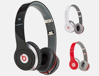 50% off Beats by Dr. Dre Solo HD Headphones, Refurbished