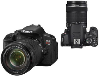 41% Off Canon EOS Rebel T4i SLR Camera w/ 18-135mm Lens
