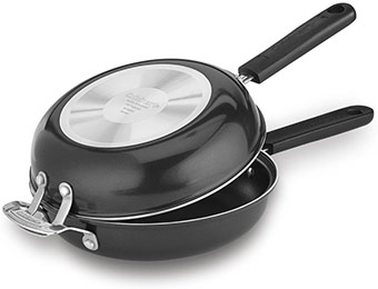 "57% off Cuisinart FP2-24BK 10"" Frittata Nonstick Pan Set"