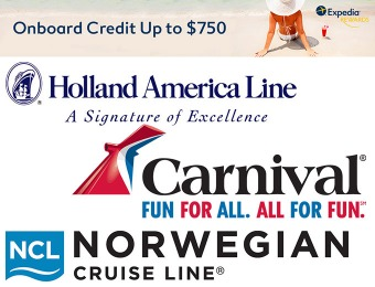 Summer Cruises: Onboard credit up to $750 + Double Reward Points