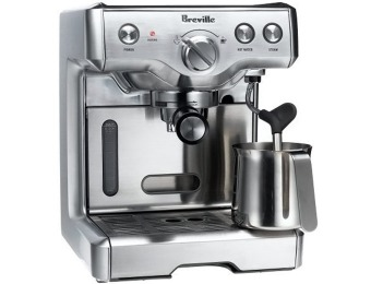 $160 off Breville Duo-Temp Espresso Machine (Reconditioned)