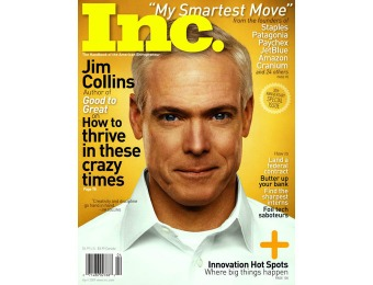 92% off INC Magazine Subscription, $4.50 / 10 Issues